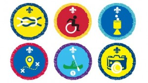 Some of the New Activity Badges